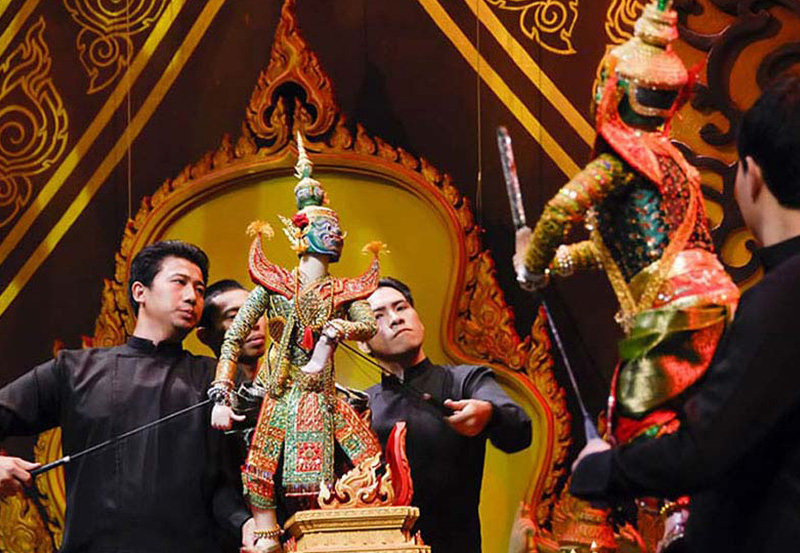 Traditional Thai Puppet Show