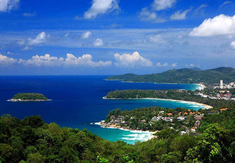 Koh Phuket - Patong Beach, Karon Beach and Kata Beach