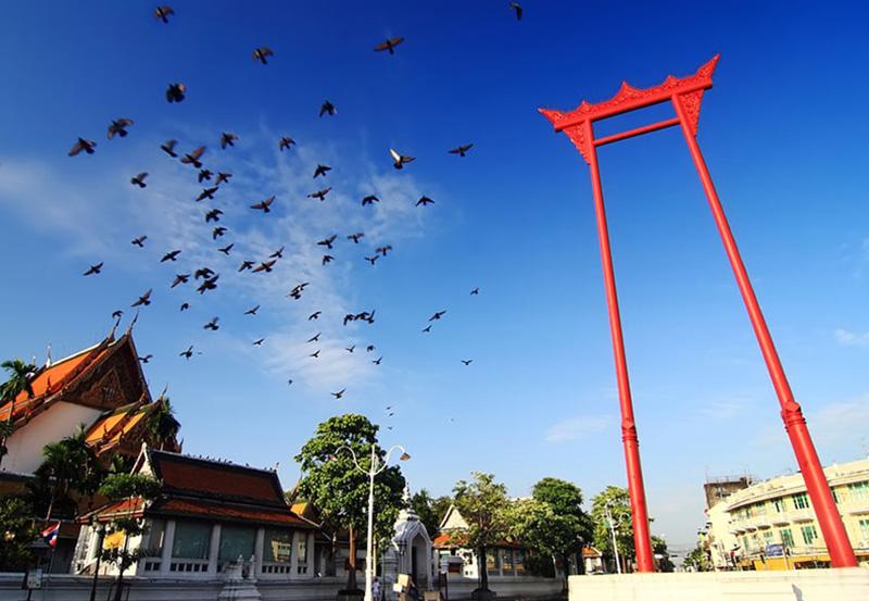 Sao Ching Cha - Giant Swing