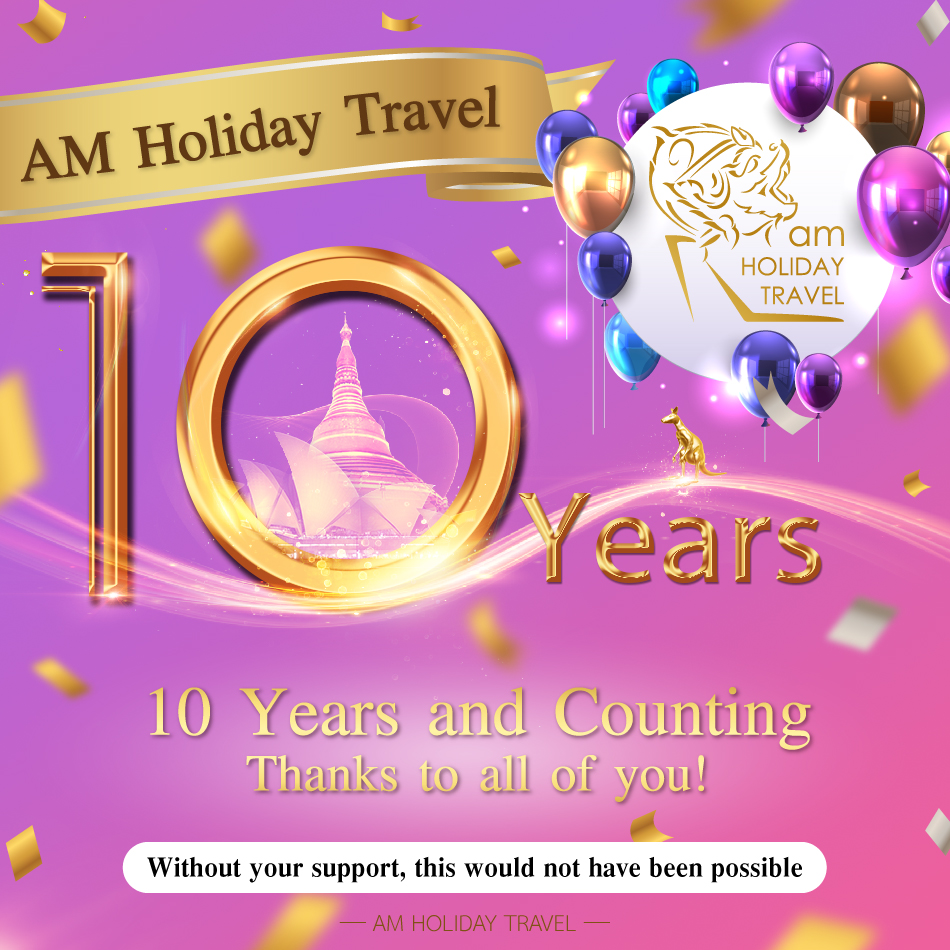 10 Years AM Holiday Travel